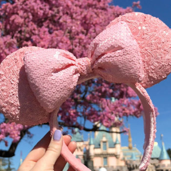 Disney is releasing sparkly *millennial pink* Minnie ears, and this is what it means to feel ALIVE