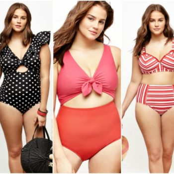 Eloquii launched the prettiest plus-size swimwear collection, and you'll want to wear it even when you aren't by the pool