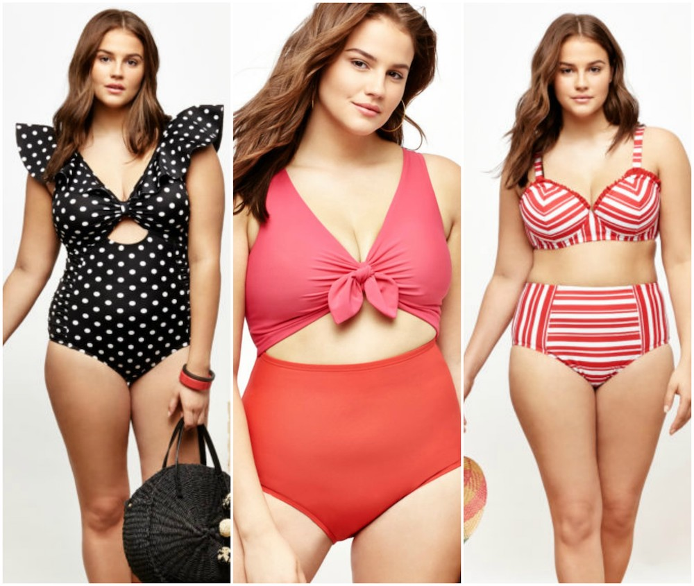 e77ef57cab Eloquii launched the prettiest plus-size swimwear collection, and you'll  want to wear it even when you aren't by the pool
