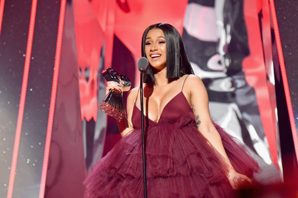 Cardi B revealed the cover and release date for her new album, and try to stay calm, people