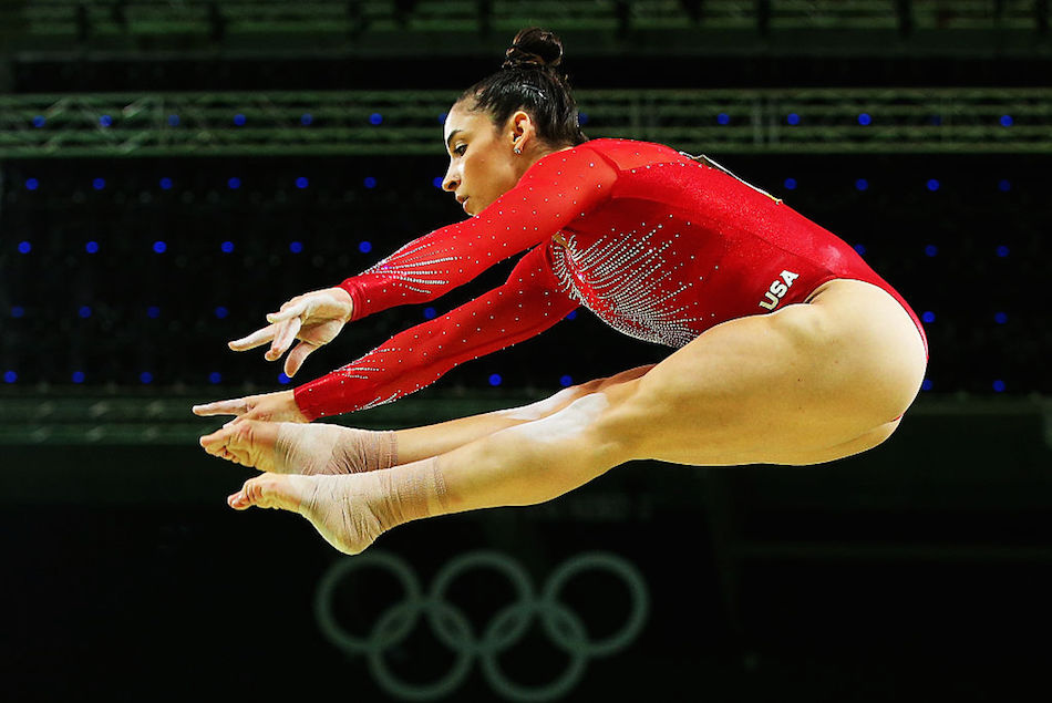 Aly Raisman had the best clapback for people who think gymnasts' leotards are to blame for sexual abuse