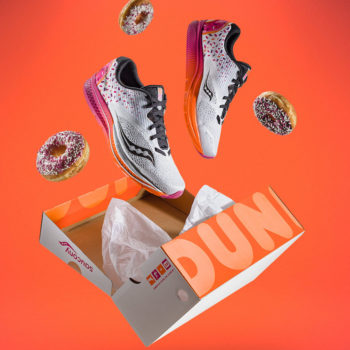 This shoe brand created a Dunkin' Donuts sneaker, and now America can literally run on Dunkin'