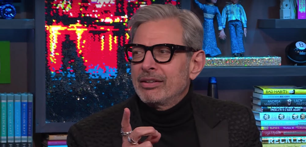 "Jeff Goldblum reciting *iconic* ""Real Housewives"" lines is the content you didn't know you needed, but you deserve"