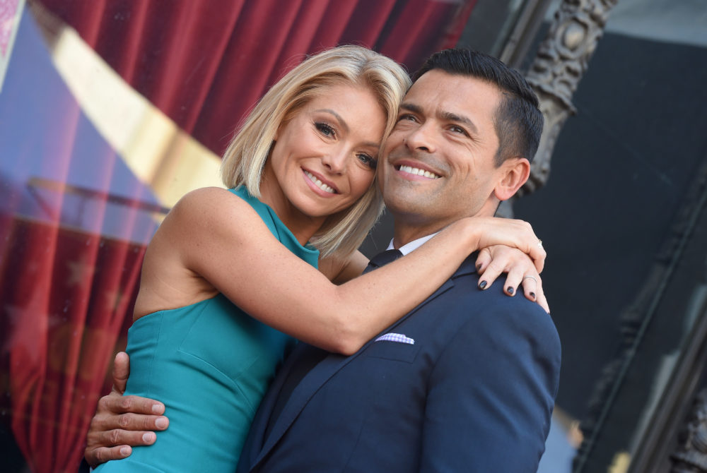 Kelly Ripa's husband, Mark Consuelos, clapped back so hard against her bikini-body shamers