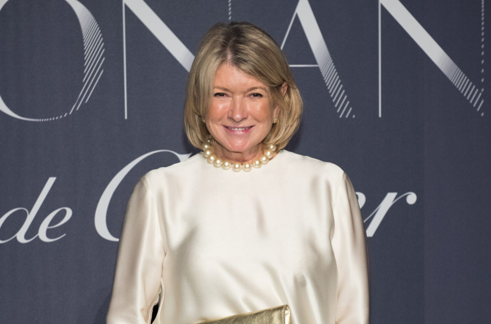 Martha Stewart posted an '80s throwback pic of herself in a little black dress, and we're getting major Mrs. Robinson vibes