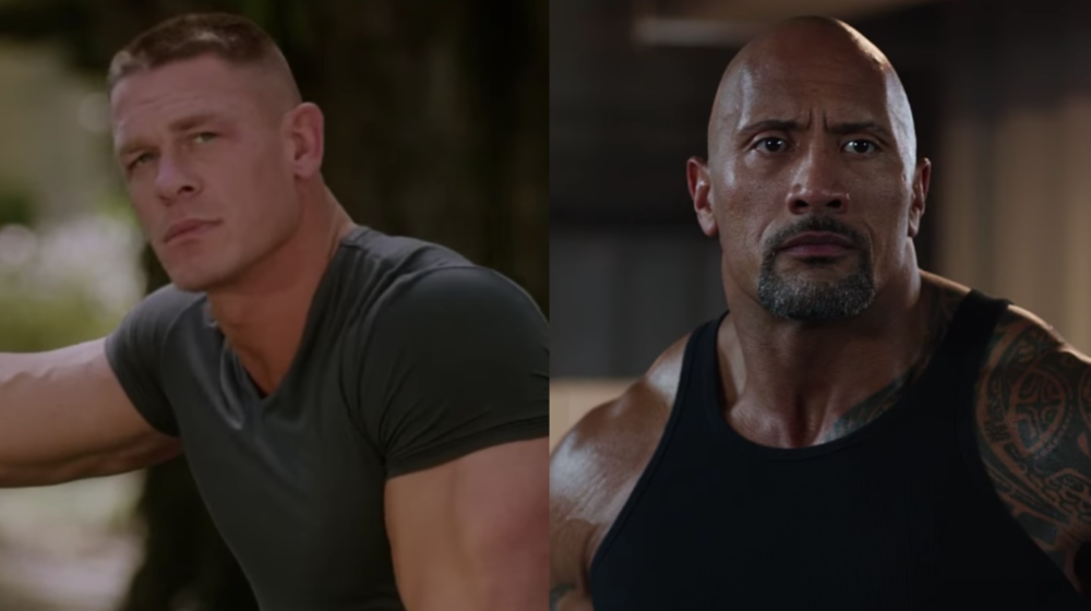 "John Cena wants to be in The Rock's ""Fast and Furious"" movie, and we need him to join the family, like, yesterday"