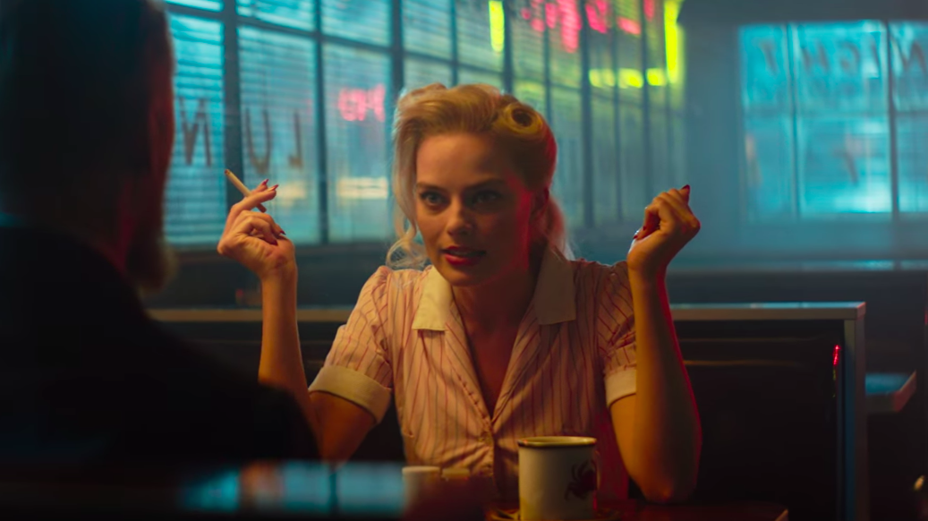"Margot Robbie is our new favorite femme fatale in the trailer for ""Terminal"""