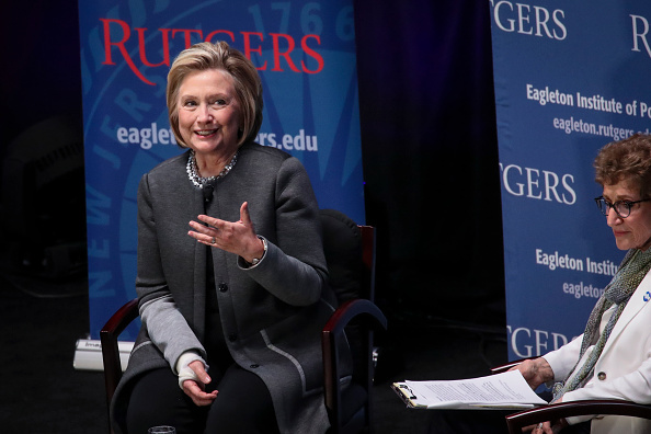 Hillary Clinton threw the most delicious shade at Trump during her speech at Rutgers last night