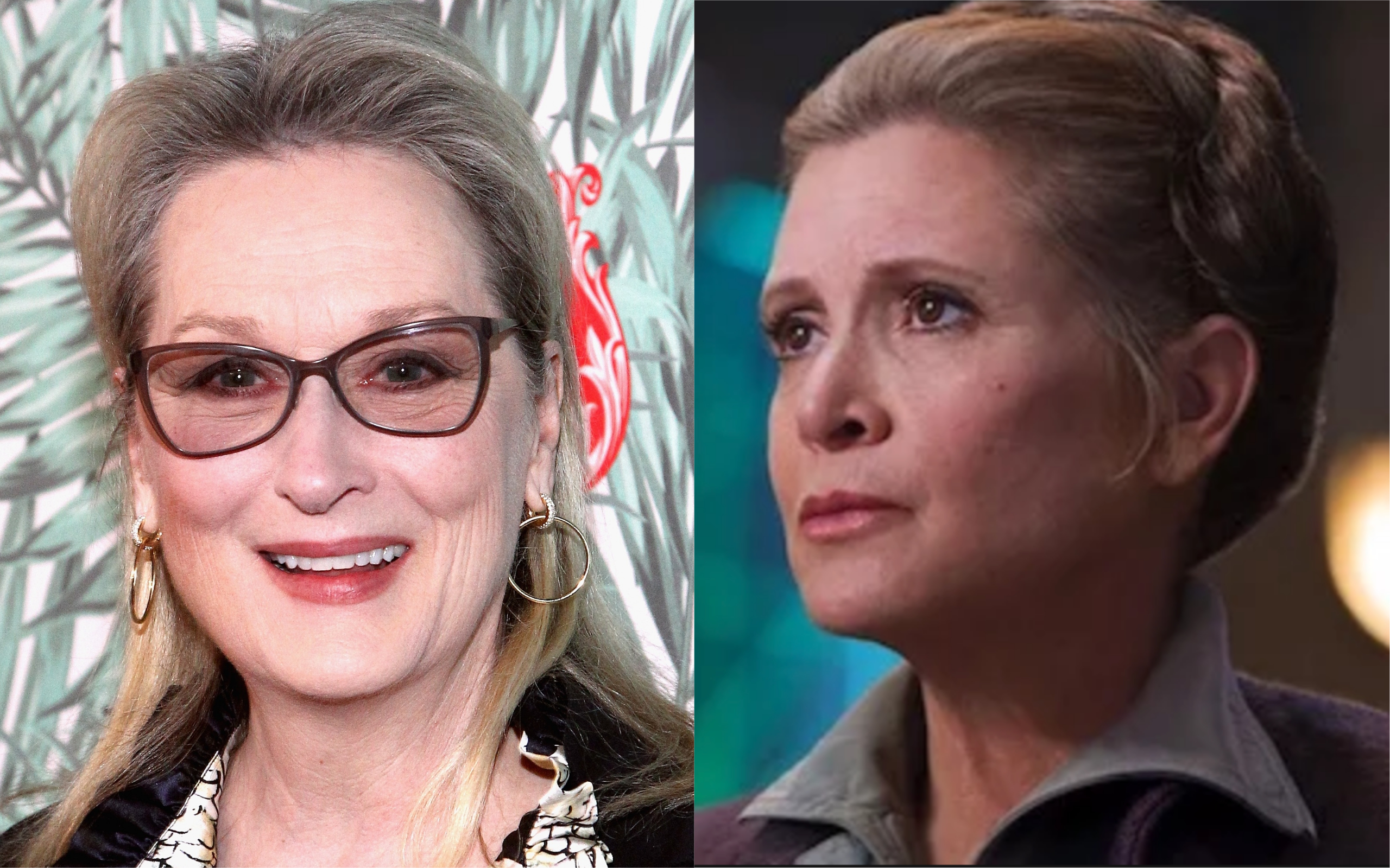 "There's a bonkers rumor that *Meryl Streep* will replace Carrie Fisher as Leia in ""Star Wars,"" and just...no"