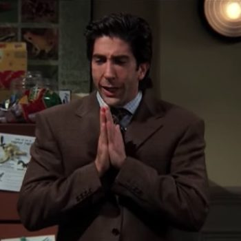 This epic Twitter thread about an office lunch theft is Ross Geller's nightmare come to life