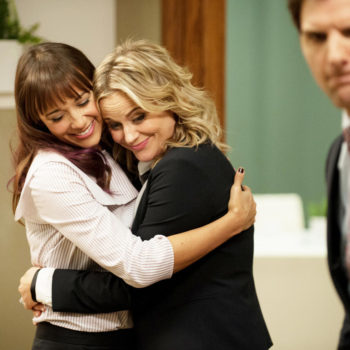 Are you a Leslie Knope looking for your Ann Perkins? Here's how long it takes to make friends, according to new research