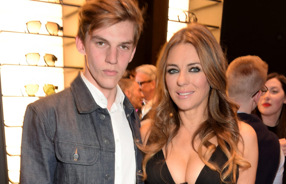 Elizabeth Hurley shared a candid Instagram post about her nephew's brutal stabbing