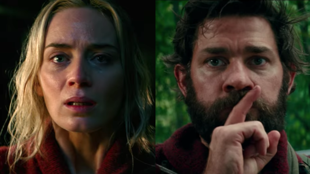 "The new ""A Quiet Place"" trailer is here, and Emily Blunt and John Krasinski will chill you to the bone"