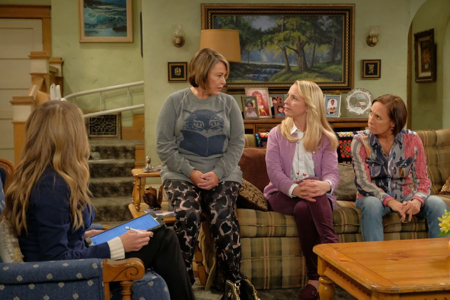 """Good news, I guess — Trump won't be mentioned again on """"Roseanne"""""""