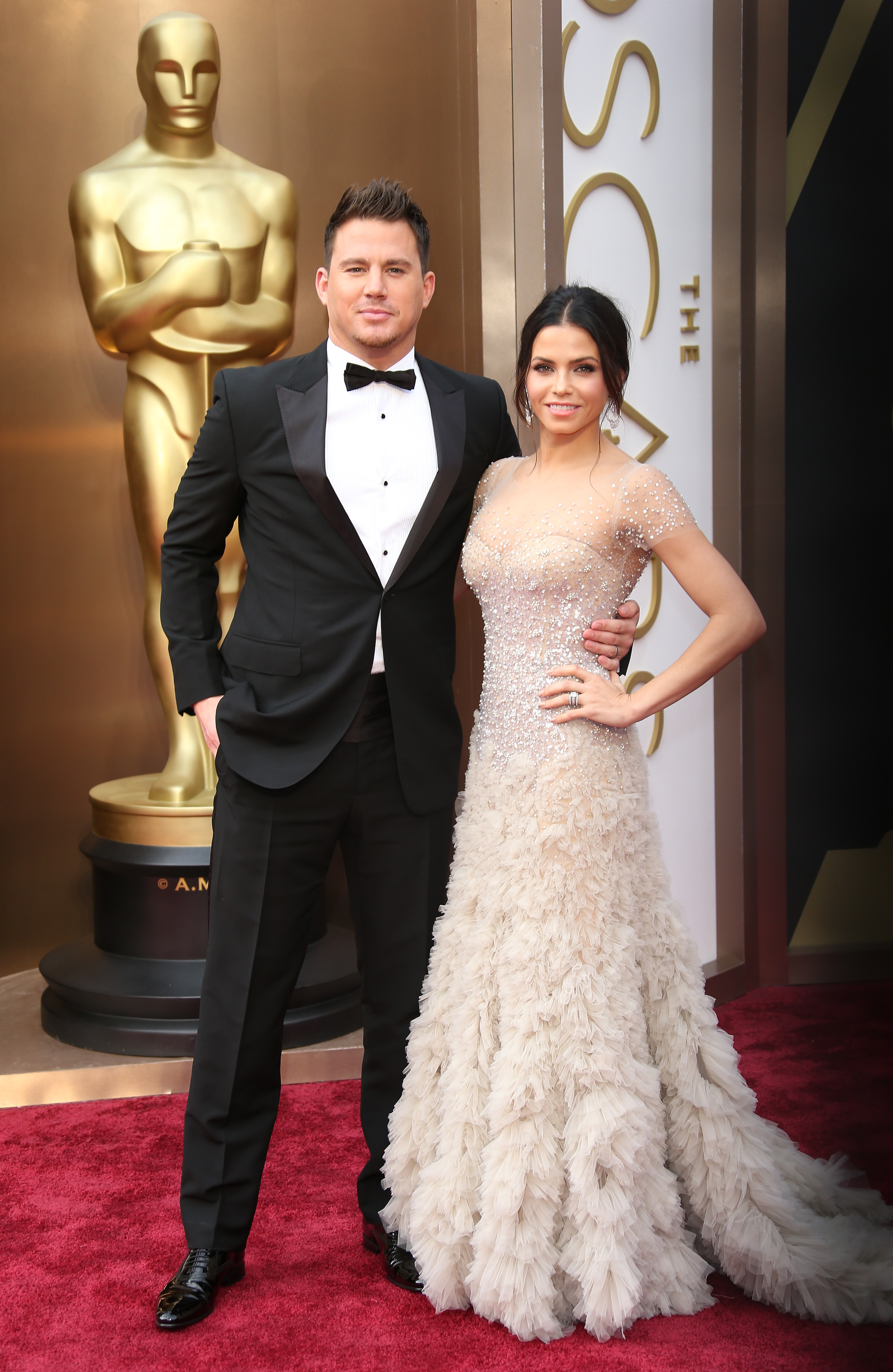 Channing Tatum and Jenna Dewan Tatum\'s Cutest Red Carpet Moments ...