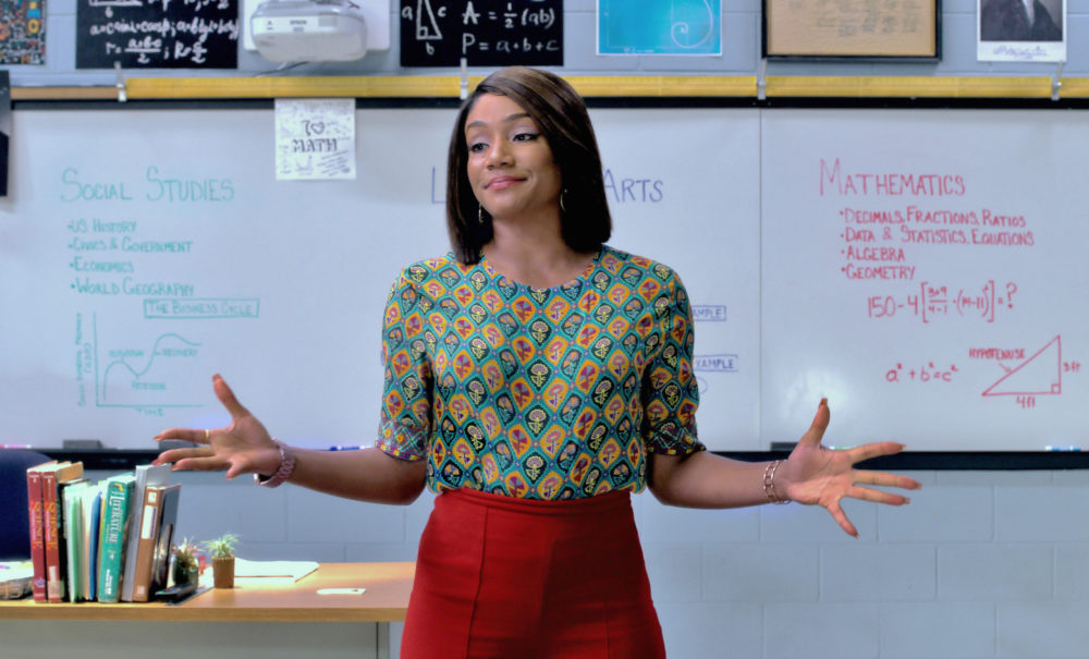 """Tiffany Haddish tries — and hilariously fails— to teach Kevin Hart math in the trailer for """"Night School"""""""