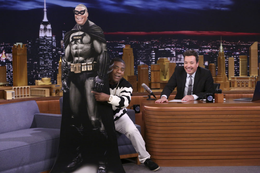 "Tracy Morgan spoofed ""Black Panther"" with ""Black Bobcat,"" and we're anxiously awaiting a crossover movie"