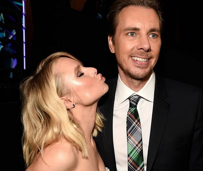 Kristen Bell just shared a never-before-seen pic of her wedding day, and we needed this