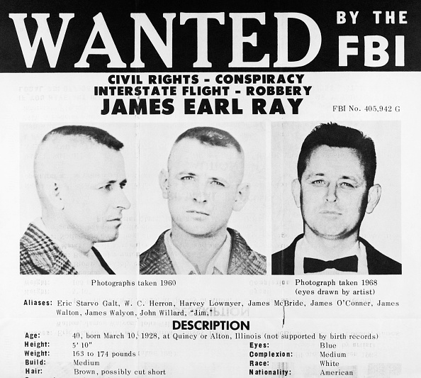 5 things to know about James Earl Ray, the man who shot Martin Luther King Jr.