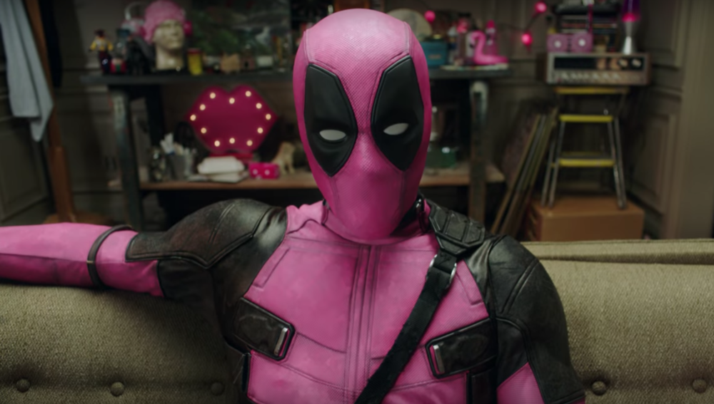 A pink Deadpool suit is being auctioned to fight cancer, so we can all be superheroes