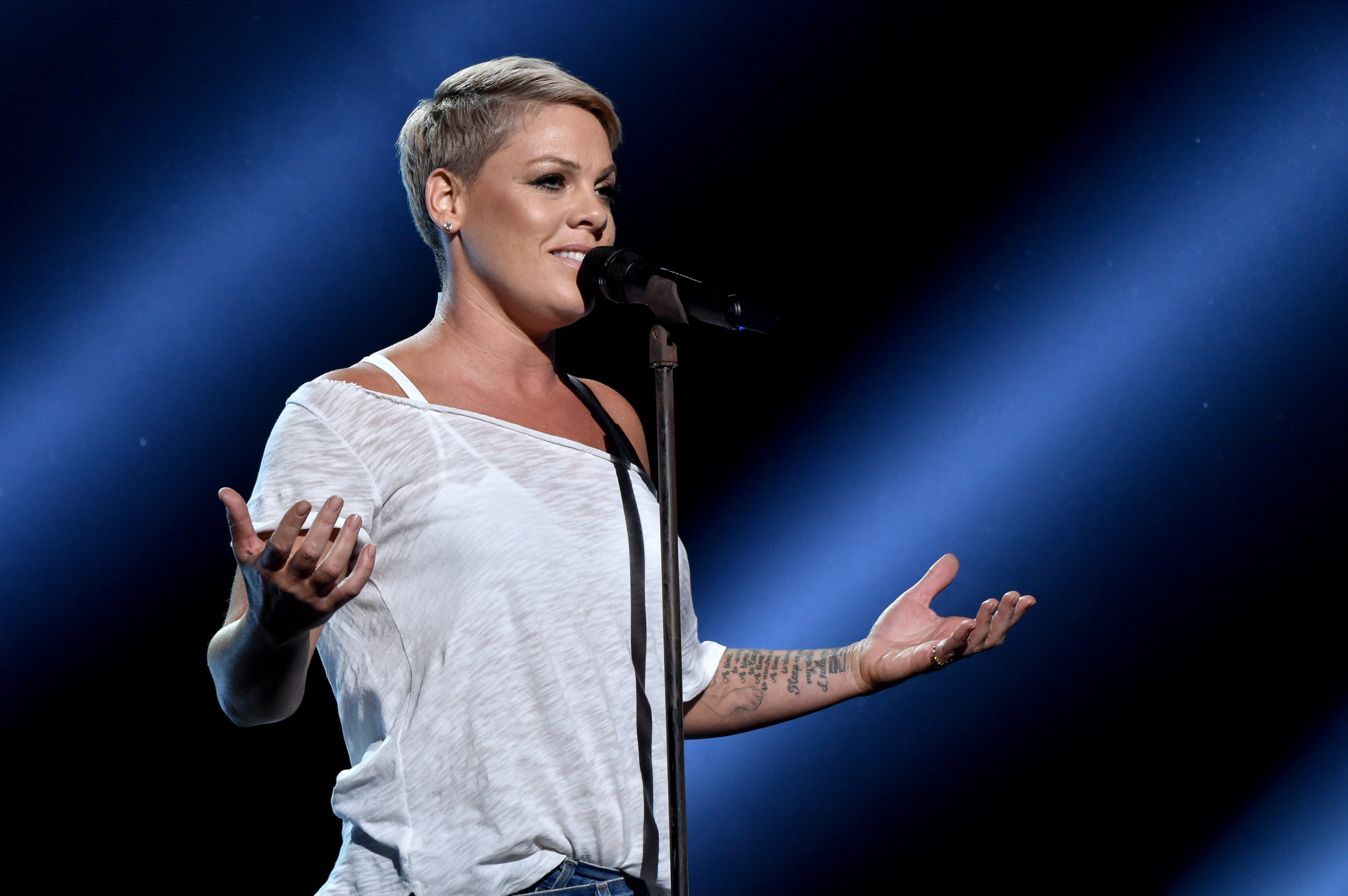 Pink Forgot the Lyrics to Her Own Song — But Fans Loved It