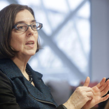 Who is Kate Brown, the Oregon governor who says she'll refuse to send troops to the border?