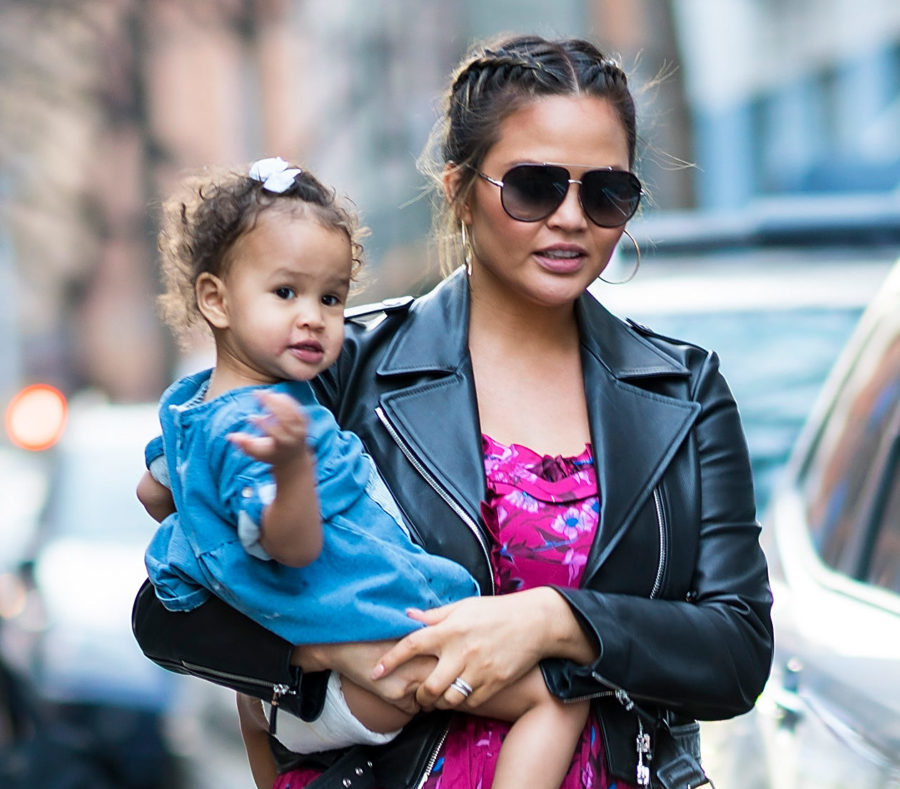 Chrissy Teigen discovered the ultimate travel hack for flying with babies