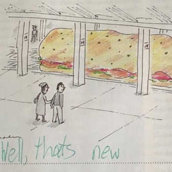 Twitter thinks this 9-year-old girl should be the <em>New Yorker</em>'s cartoon caption writer, and we get it