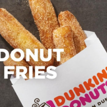 Dunkin' Donuts is now serving donut fries, and they're so cheap you'll want three orders