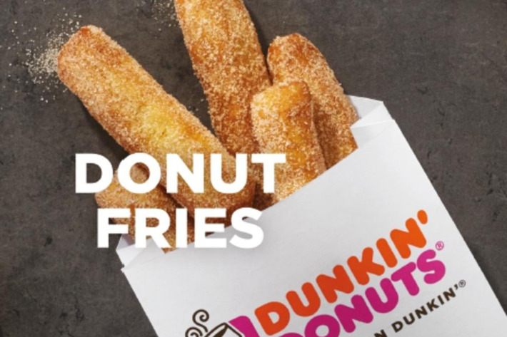 Dunkin' Donuts is now serving donut fries, and they're so cheap you'll want 3 orders