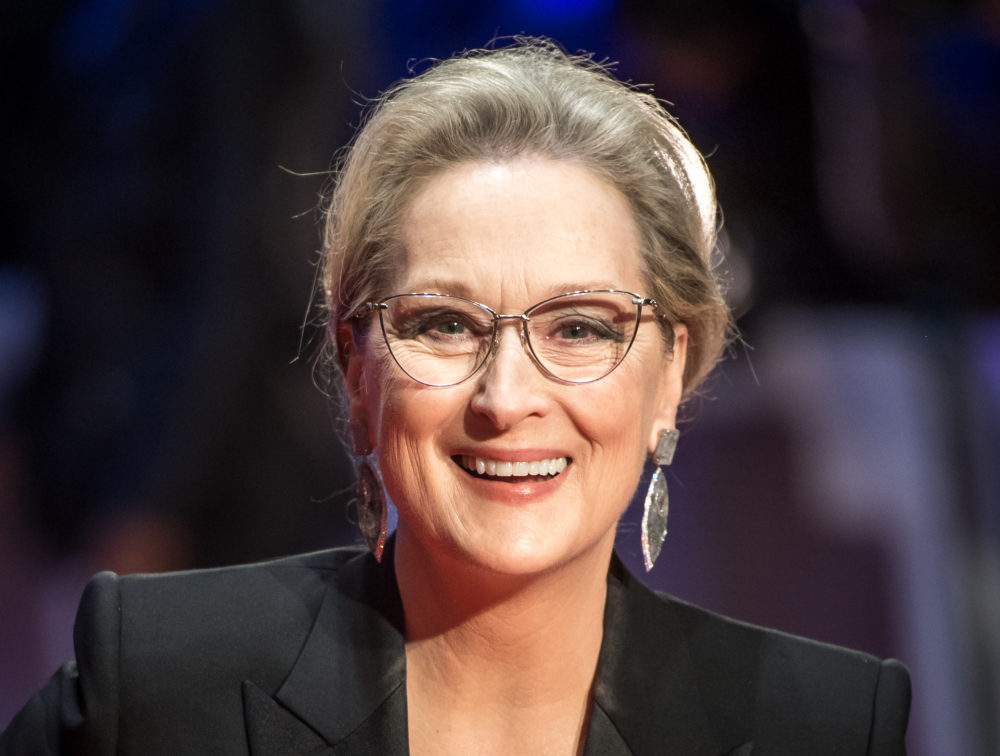 DROP EVERYTHING — the first photo of Meryl Streep in <em>Big Little Lies</em> is here