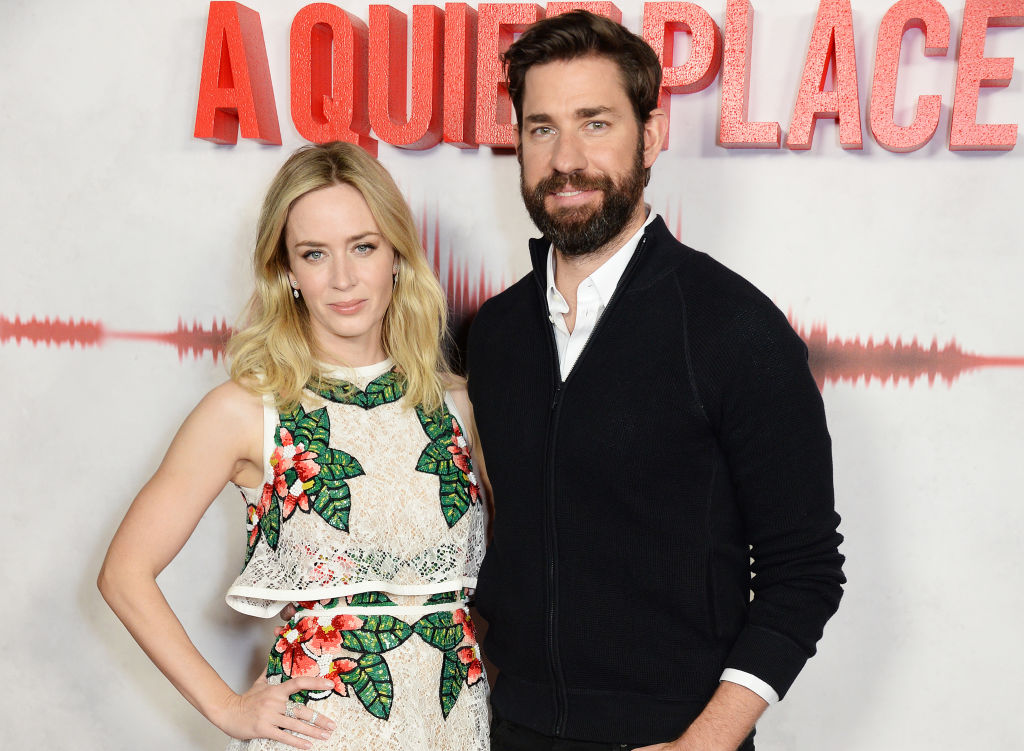 "John Krasinski and Emily Blunt made <em>A Quiet Place</em> as a ""love letter"" to their kids"