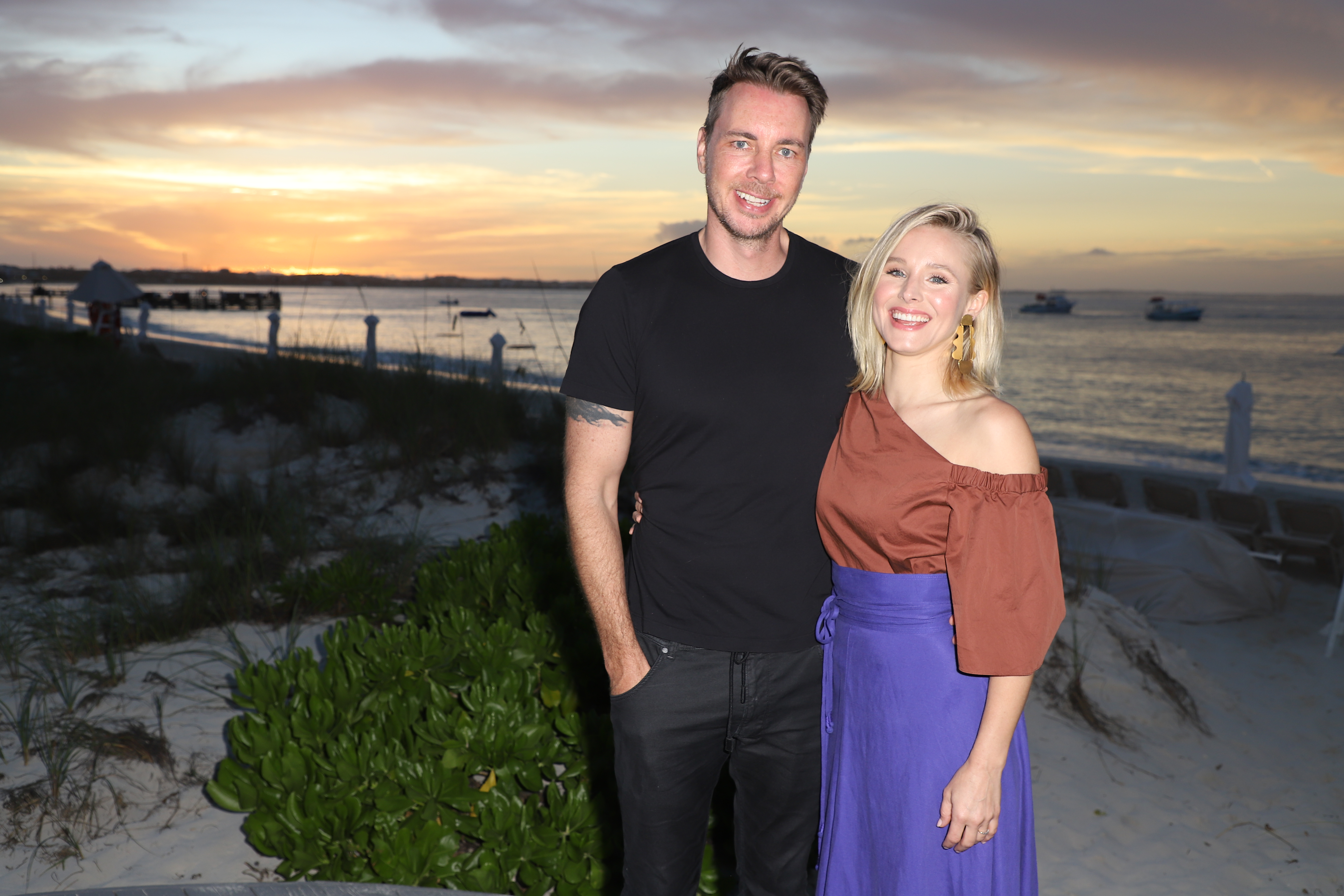 This is how Kristen Bell and Dax Shepard keep their outrage in check