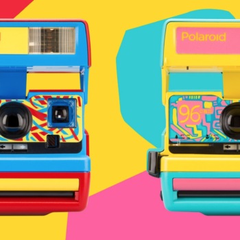 Polaroid is re-releasing one of their iconic cameras, because our love for the '90s knows no bounds