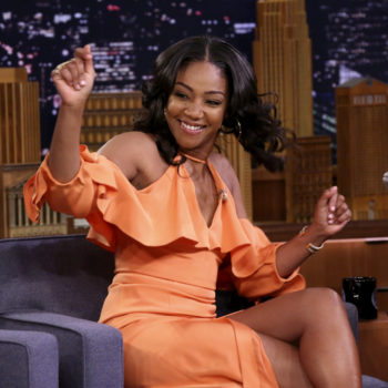 Tiffany Haddish is all of us in this imaginary date with Brad Pitt on <em>TheTonightShow</em>