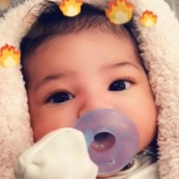 Travis Scott's family welcomed little Stormi to Texas with a soiree featuring weather-themed floral arrangements