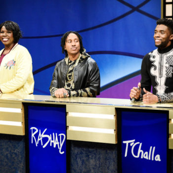 Chadwick Boseman brought T'Challa to <em>Black Jeopardy!</em> on <em>SNL</em>, and Twitter loved it