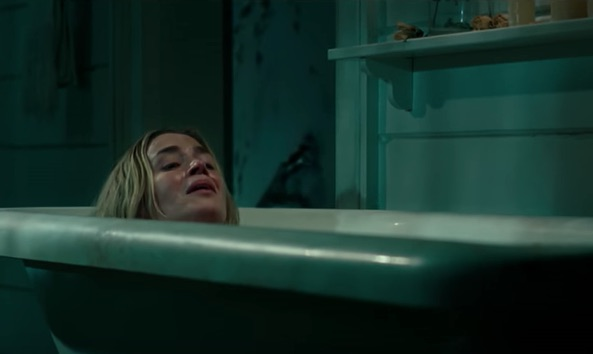 Emily Blunt shot the bathtub scene from <em>A Quiet Place</em> in one take, in case you weren't already impressed