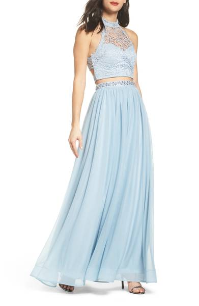 Two Piece Prom Dresses To Wear Over and Over Again - HelloGiggles
