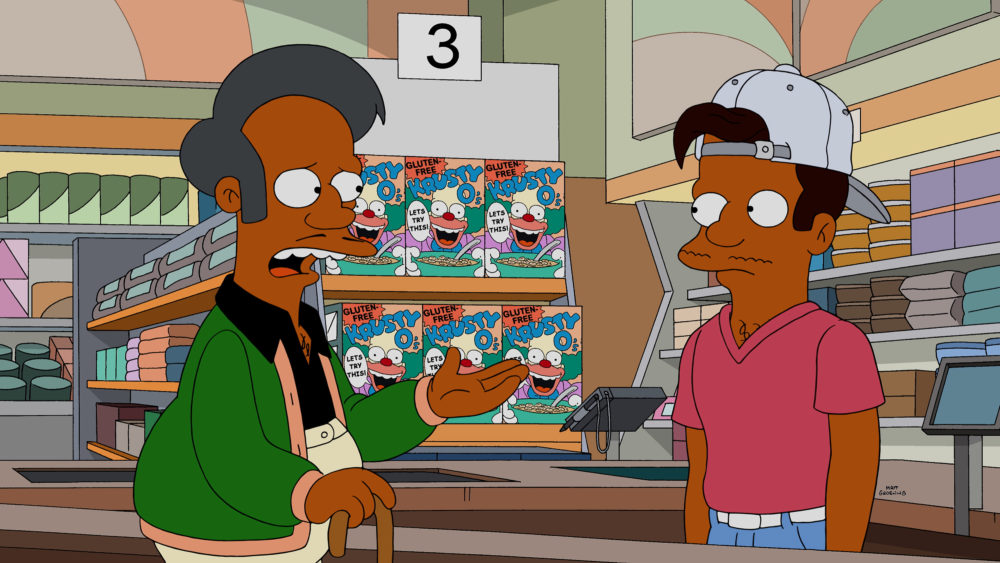 <em>The Simpsons</em> addressed the Apu backlash with so much snark, and really, that's how you're handling this?