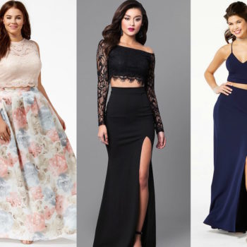 Two-piece prom dresses guaranteed to make you stand out on the dance floor