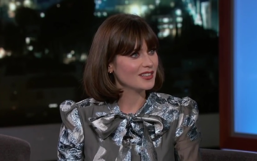Zooey Deschanel admitted her daughter doesn't like her singing, and LOL