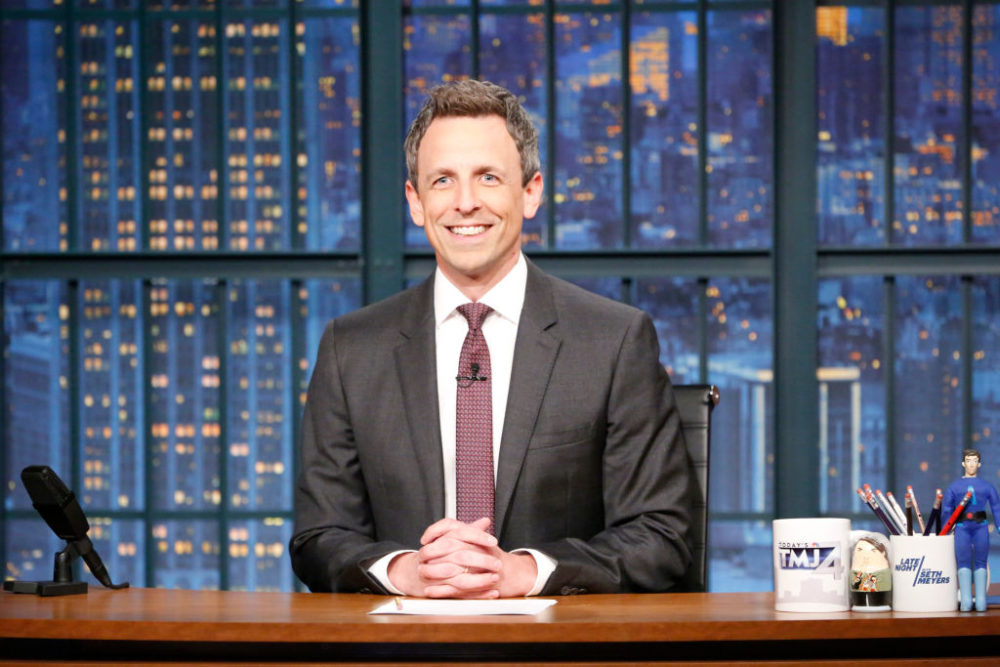 Seth Meyers revealed the special meaning behind his new son's unique name