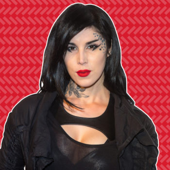 Kat Von D talks to us about her ultimate brow icon and the most surprising thing she collects