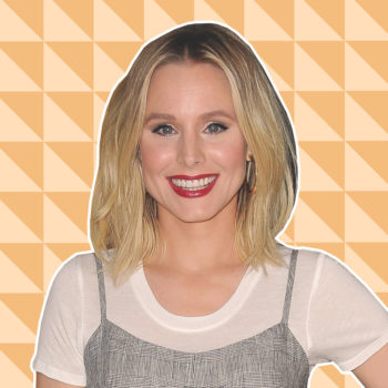 We spoke with Kristen Bell about death, beauty, and outrage culture