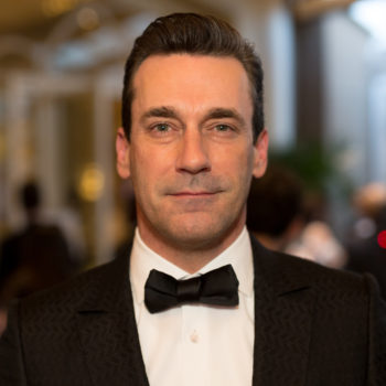 Jon Hamm debuted the most beautiful beard, and all other beards can go home now