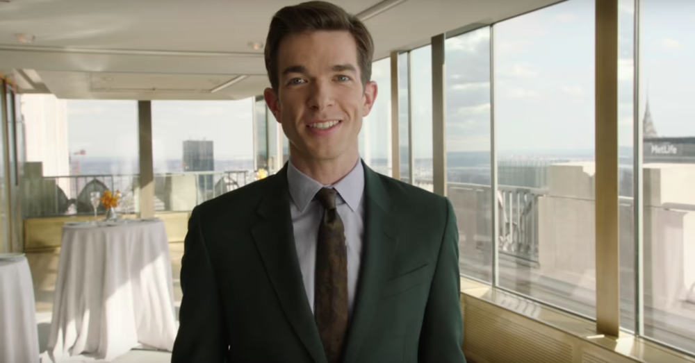 Treat yourself to John Mulaney terribly tap dancing in his <em>Saturday Night Live</em> promo