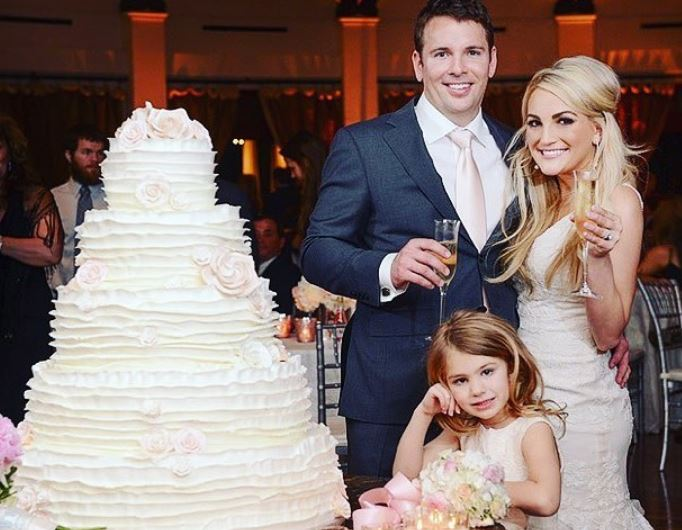 Who is Jamie Lynn Spears' husband, the father of her baby daughter?