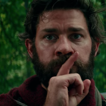 John Krasinski shared the first photo from <em>A Quiet Place</em> sequel, and we're having trouble staying quiet