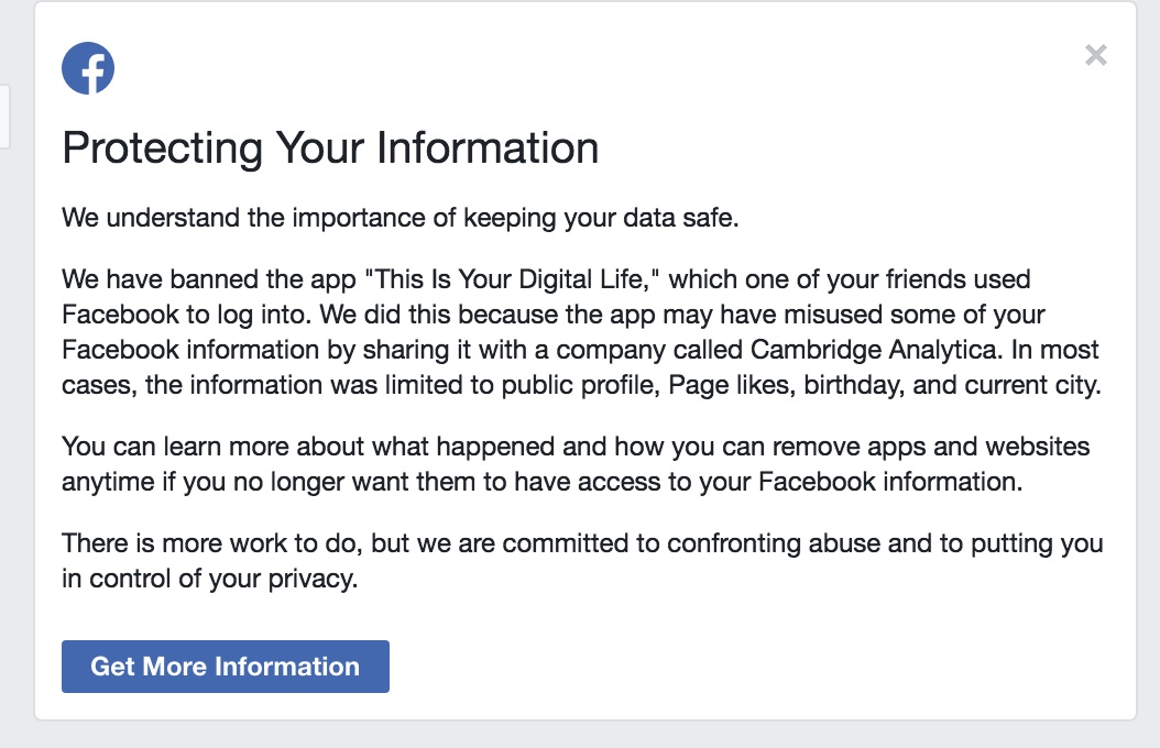 If Facebook Notified You A Friend Used